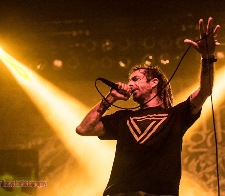 Randy Blythe of Lamb Of God @ Queen Elizabeth Theatre - June 1st 2016
