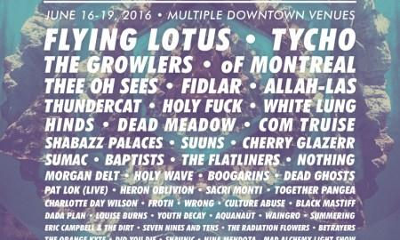 Levitation Vancouver Lineup Poster 2016