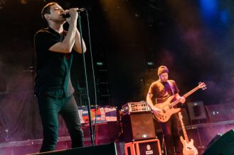 The Twilight Sad at Merriweather Post Pavilion © Matt Condon