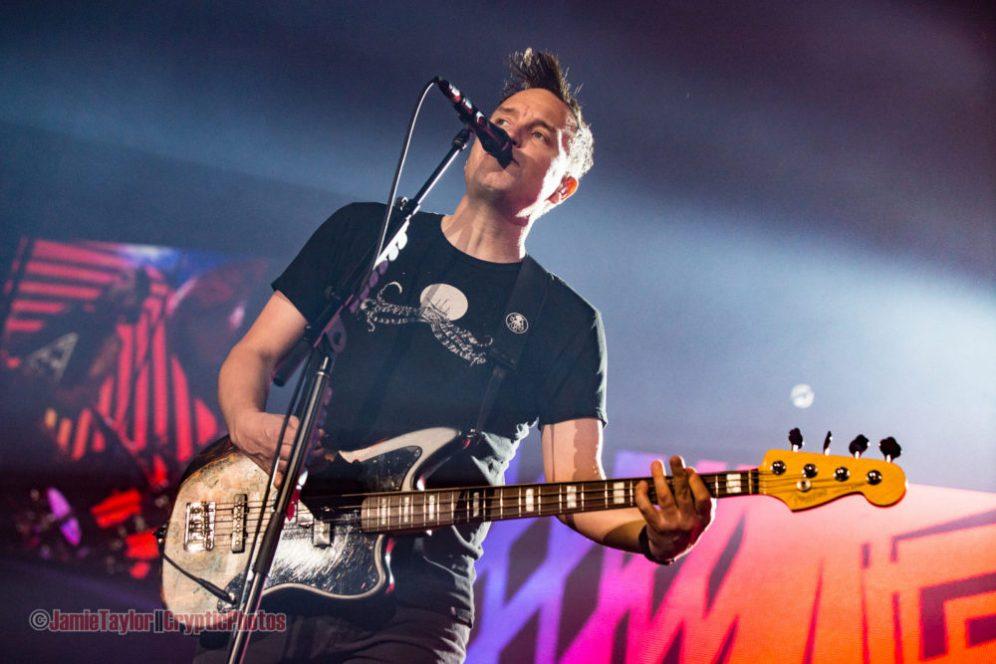 mark hoppus of Blink 182 @ Abbotsford Centre - September 18th 2016