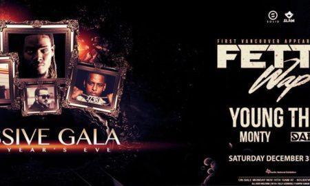 Massive Gala ft. Fetty Wap + Young Thug + Monty + Daijo at Pacific Coliseum 2016 NYE