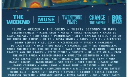 Firefly music festival 2017 poster lineup