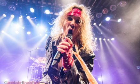 michael starr of steel panther @ commodore ballroom vancouver by Jamie Taylor - 2017