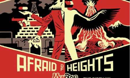 billy talent afraid of heights 2016 poster