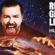Ricky Gervais Live V 2017 Tour Poster