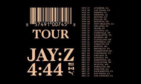 jay z 4:44 tour 2017 poster
