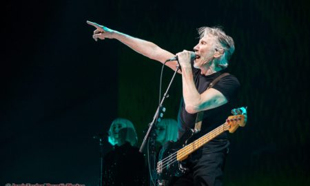 Photo of Roger Waters of Pink Floyd performing at Rogers Arena in Vancouver, BC on October 28th 2017