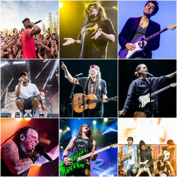 Best concerts and photographs of 2017 chosen by Jamie Taylor concertaddicts
