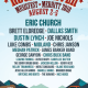 rockin river music festival 2018 lineup poster admat