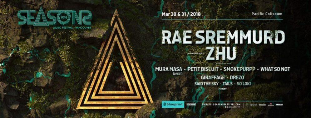 Seasons Music Festival 2018 at Pacific Coliseum (Vancouver)