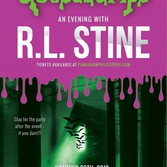 An Evening With R.L. Stine at Queen Elizabeth Theatre
