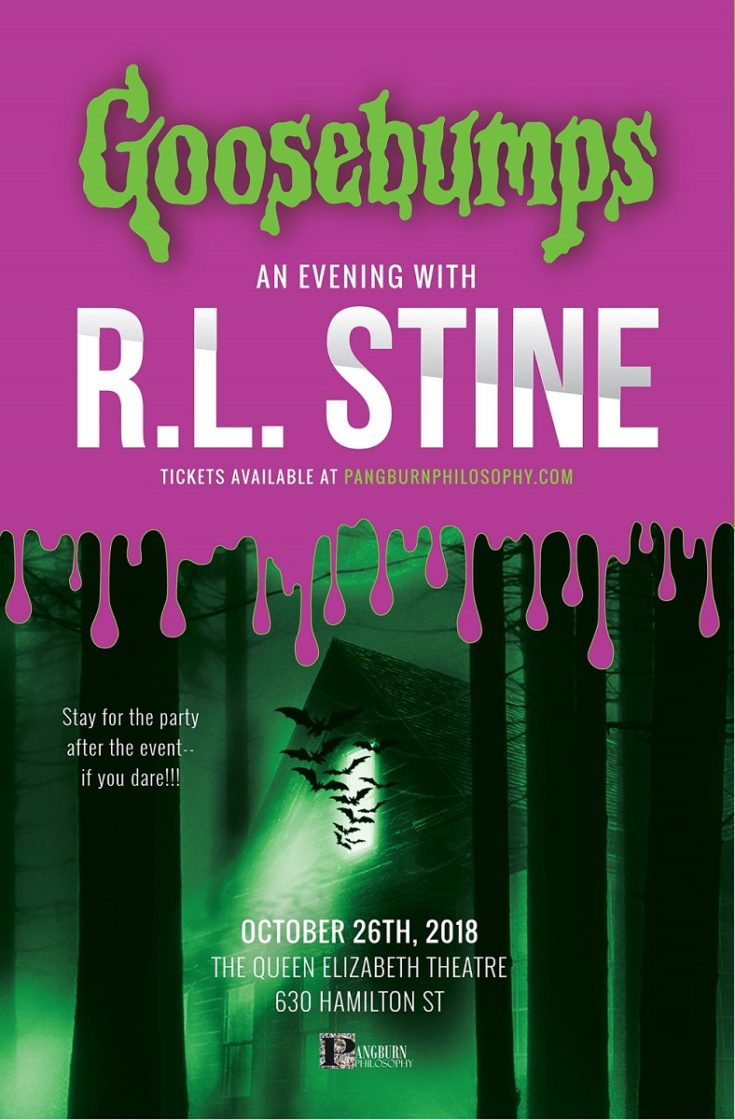An Evening With R.L. Stine at Queen Elizabeth Theatre