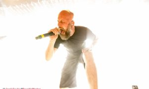 Jens Kidman of Meshuggah at The Commodore Ballroom in Vancouver, BC on January 23rd 2018