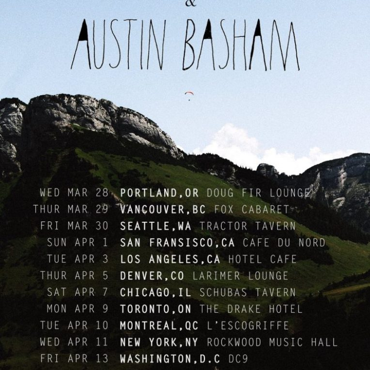 Austin Basham + hollow coves 2018 tour