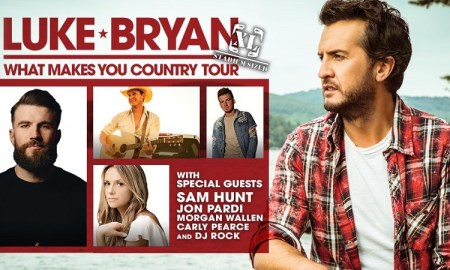 Luke Bryan + Sam Hunt + Jon Pardi + Morgan Wallen + Carly Pearce + DJ Rock at BC Place