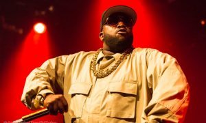 Big Boi of Outkast at The Commodore Ballroom in Vancouver, BC on January 9th 2018