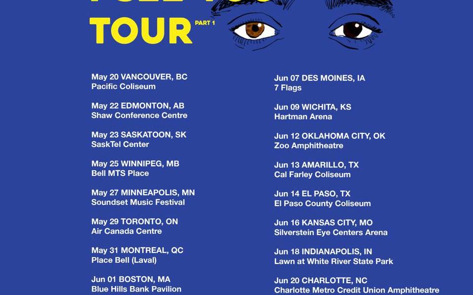 Vancouver | I See You Tour Part 1 ft  Russ at Pacific Coliseum