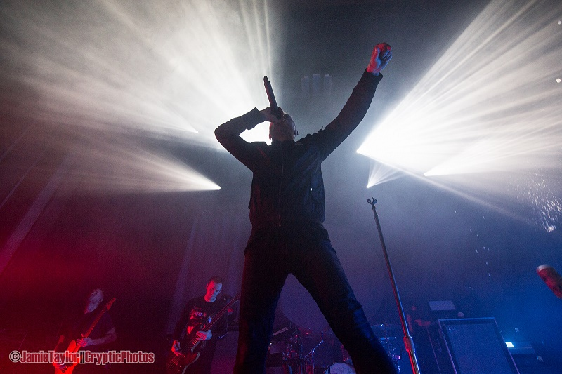 UK band Architects performing at The Vogue Theatre in Vancouver , BC on March 1st 2018