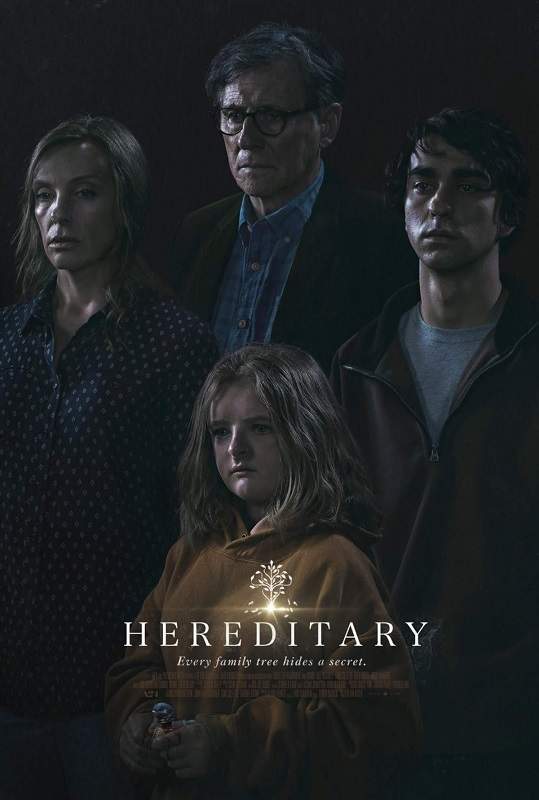 Hereditary [2018] movie poster - Official Trailer #1