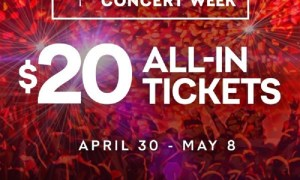Live Nation Canada Launches National Concert Week on April 30 2018