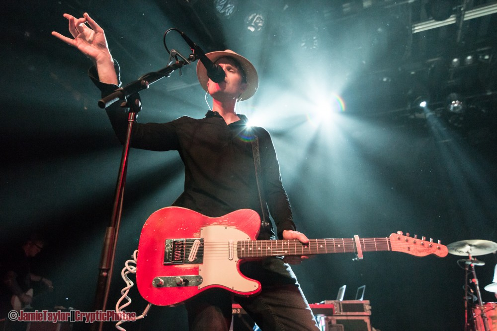 Jon Fratelli of The Fratellis performing at the Commodore Ballroom in Vancouver, BC on April 26th, 2018