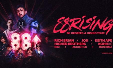 88rising ft. Rich Brian + Joji + Keith Ape + Higher Brothers + Kohh + Niki + August 08 + Don Krez at Pacific Coliseum