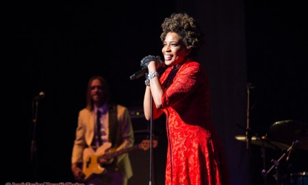 Macy Gray performing at Queen Elizabeth Theatre in Vancouver, BC on June 28th, 2018. Photo by Jamie Taylor