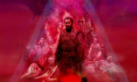 Mandy movie poster - release date Sepember 14 2018