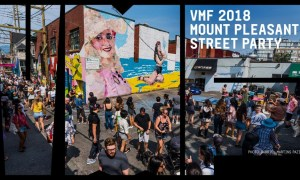 Vancouver Mural Festival Street Party 2018