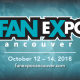 Fan Expo Vancouver 2018 at Vancouver Convention Centre