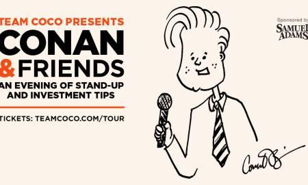 Conan & Friends ft. Conan O'Brien + Ron Funches + Laurie Kilmartin + Moses Storm + Flula Borg at Queen Elizabeth Theatre