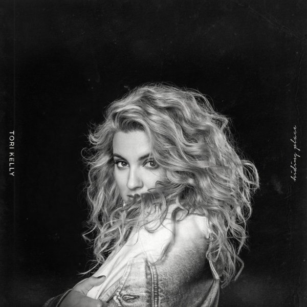 album cover for tori kelly's new album hiding place - release september 14th 2018