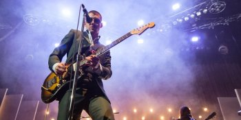 Signer Alex Turner of Arctic Monkeys performing at Pacific Coliseum in Vancouver, BC on October 25th, 2018