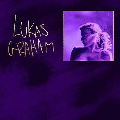 Official album cover for Lukas Graham's newest album '3 (The Purple Album)' - released october 26th 2018