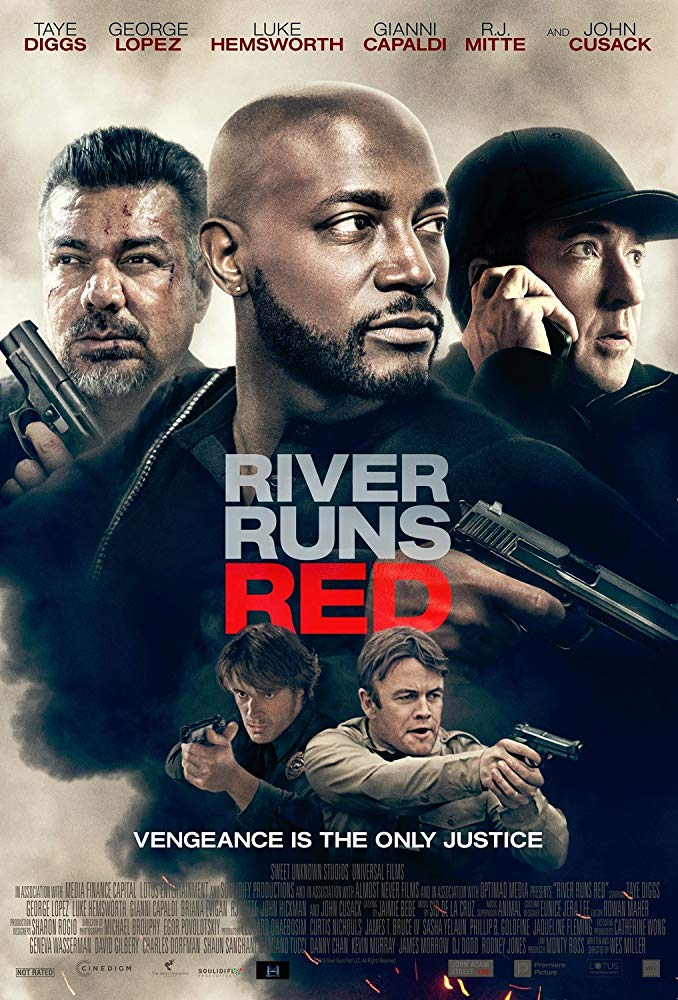 Official movie poster for River Runs Red [2018]