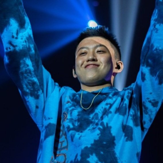 Rapper rich brian performing with 88Rising at Pacific Coliseum in vancouver, BC on October 26th 2018