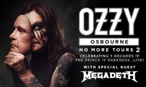 "Ozzy Osbourne Announces ""No More Tours 2"" With Megadeath"