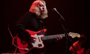 Photo of musician Lindsey Jordan of Snail Mail performing at Imperial in Vancouver, BC on January 27th, 2019