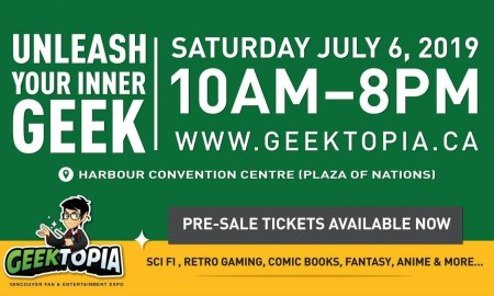 Geektopia @ Harbour Event Centre in Vancouver, BC 2019