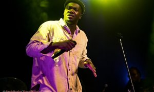 Photo of English singer and songwriter Jacob Banks performing at Venue Nightclub in Vancouver, BC on January 19th, 2019