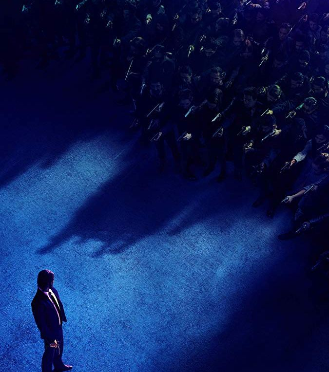 John Wick: Chapter 3 - Parabellum [2019] - movie poster cover