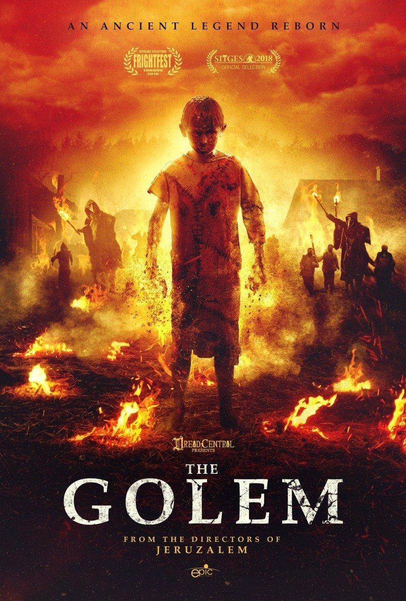 The Golem [2019] - Official Trailer #1 - poster admat cover