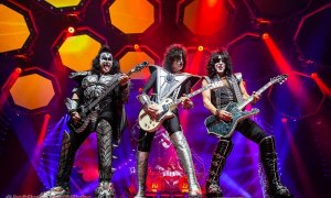 "American rock band KISS during their ""The End Of The Road Tour"" performing at Rogers Arena in Vancouver, BC on January 31st, 2019"