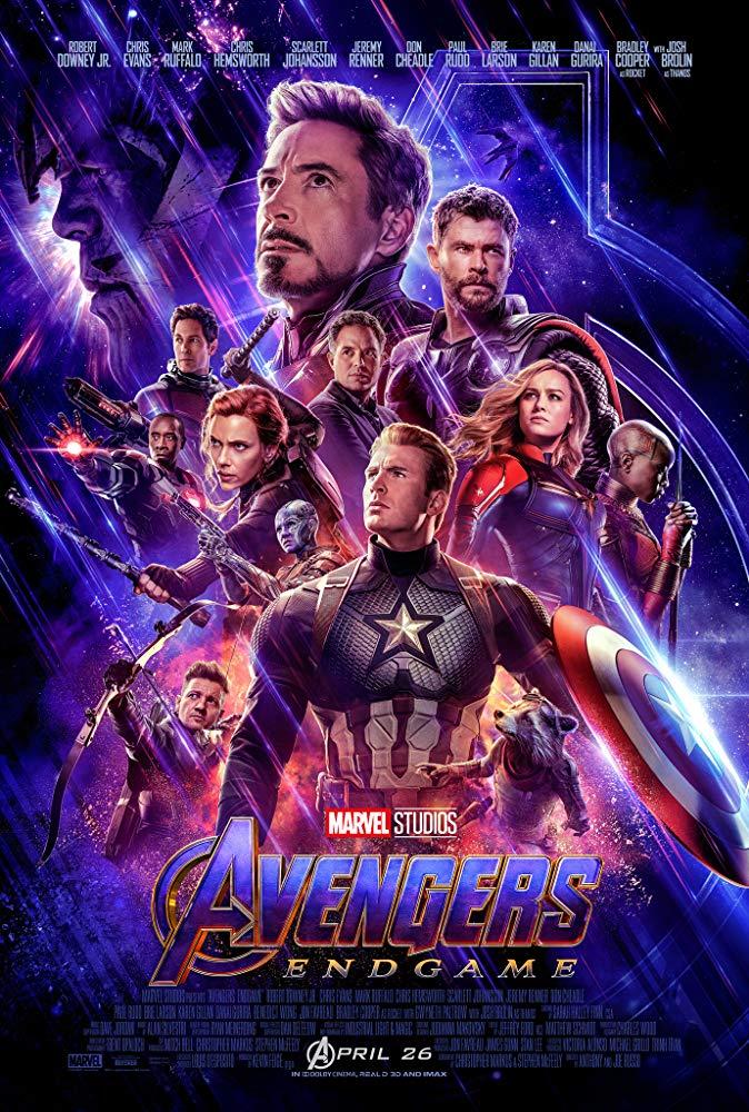 Avengers: Endgame [2019] poster - april 26 2019
