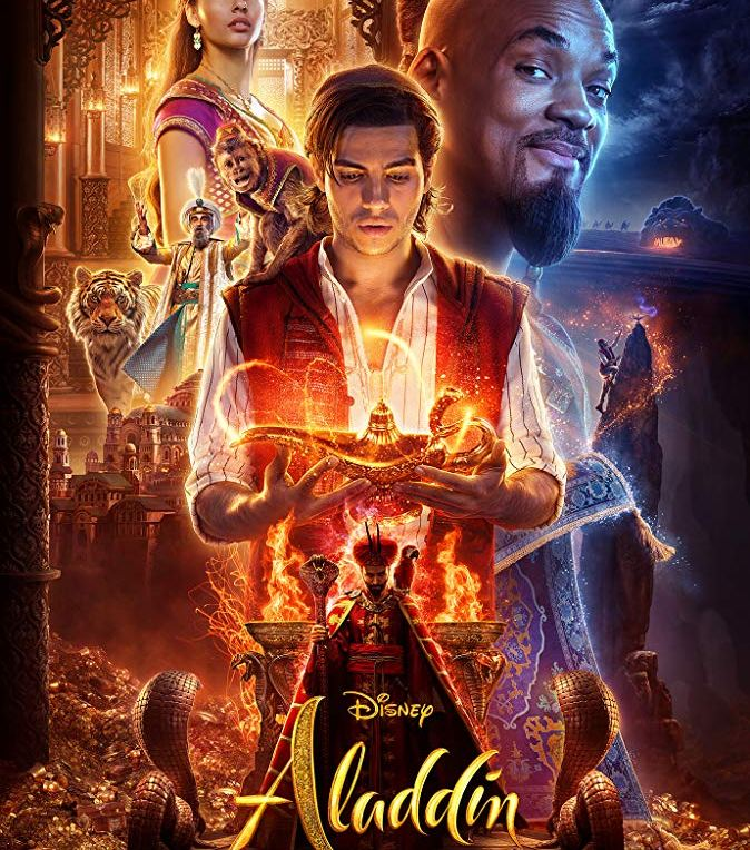 Disney's Aladdin Official movie poster - In Theaters May 24!