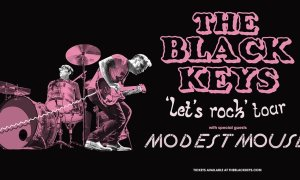 The Black Keys let's rock tour 2019 poster admat banner