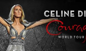 """Courage World Tour"" ft. Celine Dion 2020 poster admat banner"