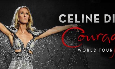 """Courage World Tour"" ft. Celine Dion 2020 poster admat banner"