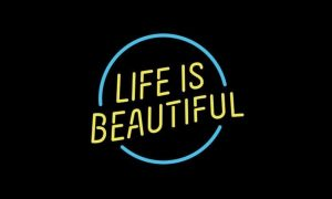 Life-Is-Beautiful-festival logo title 2019