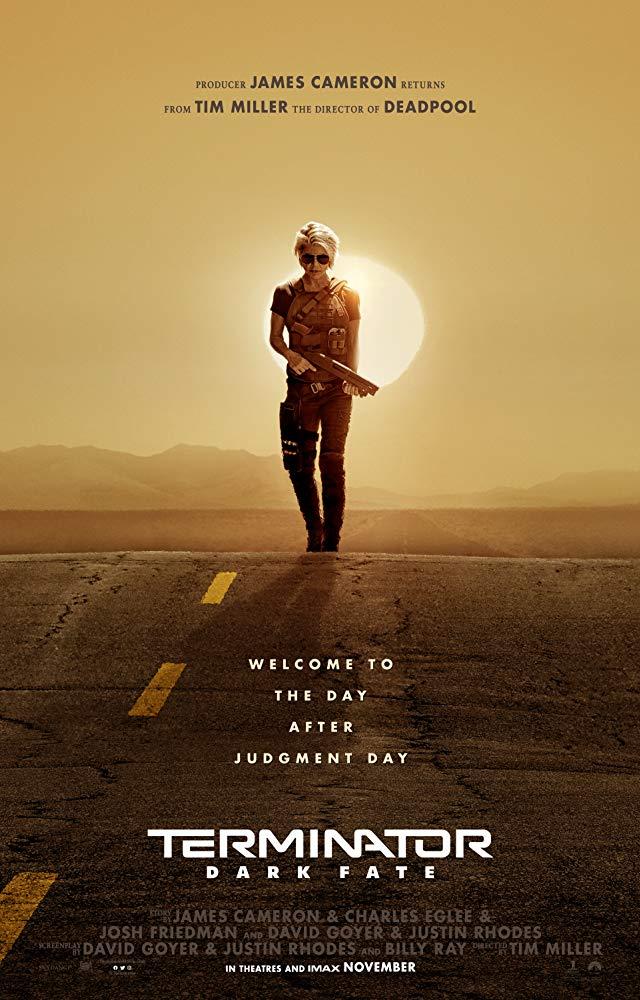 Terminator: Dark Fate [2019] - Official poster
